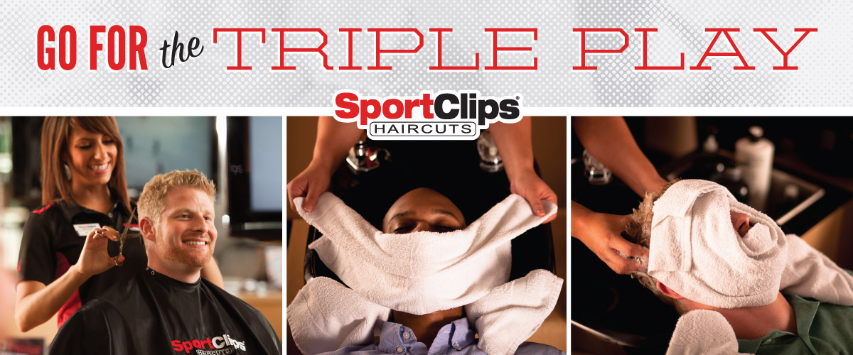 The Sport Clips Haircuts of Yorba Linda at New River  Triple Play